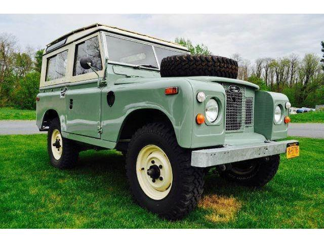 1970 Land Rover Series IIA | 886185
