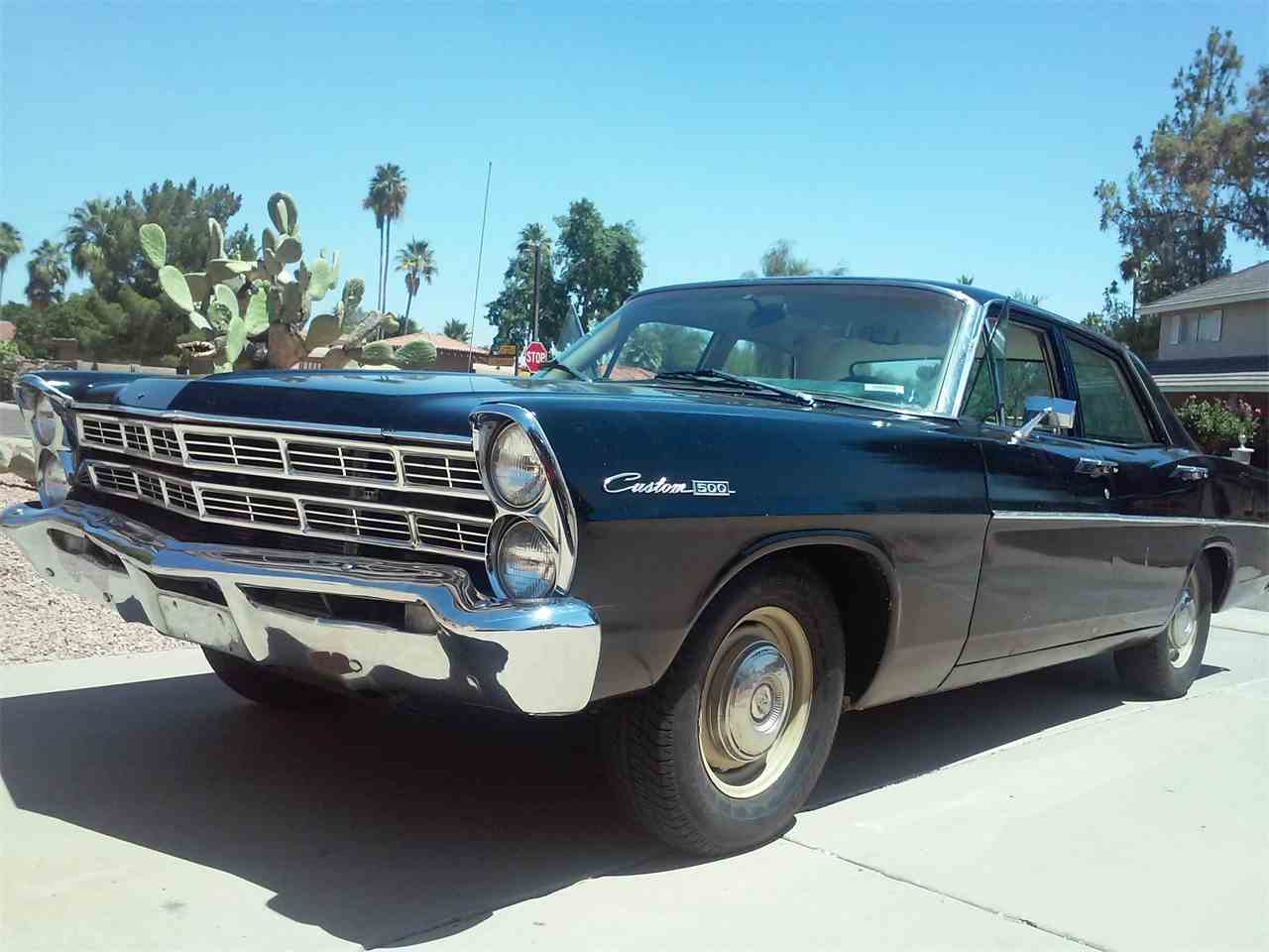 1967 ford galaxie 500 for sale cc 886416. Black Bedroom Furniture Sets. Home Design Ideas