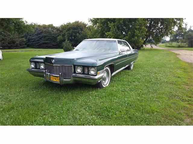 1972 Cadillac Sedan DeVille | 886482