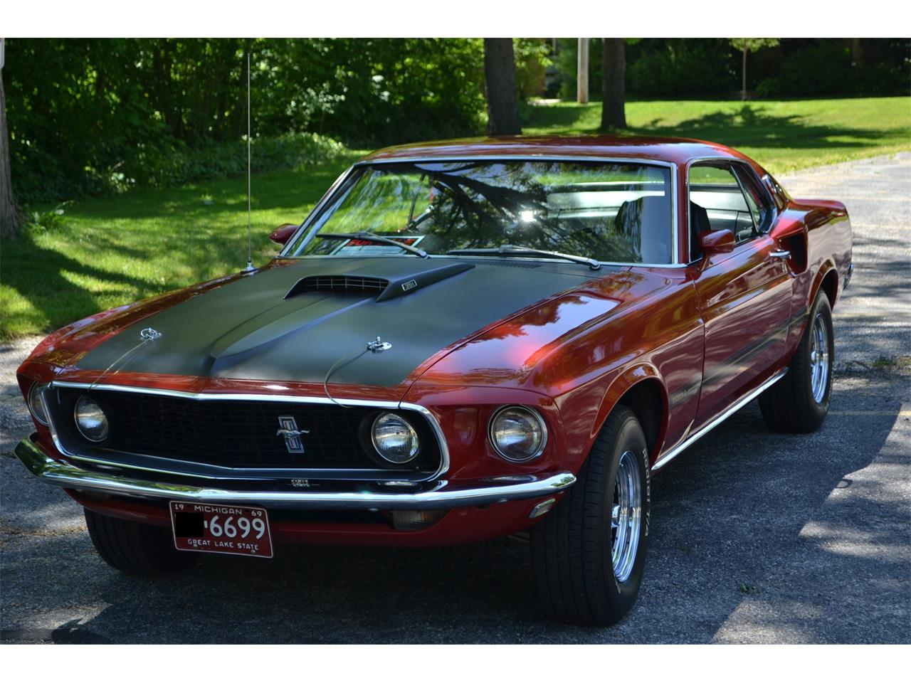 1969 ford mustang mach 1 for sale cc. Black Bedroom Furniture Sets. Home Design Ideas