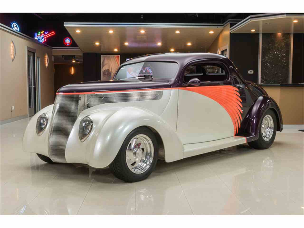 1937 ford 3 window coupe street rod for sale classiccars for 1937 ford 3 window coupe for sale