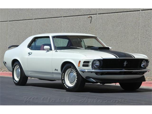 1970 Ford Mustang M code 351 Cleveland  4spd AC | 886655