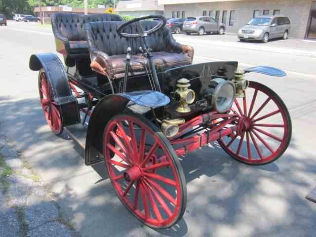 1908 Tudhope McIntyre 4 passenger surrey | 886809