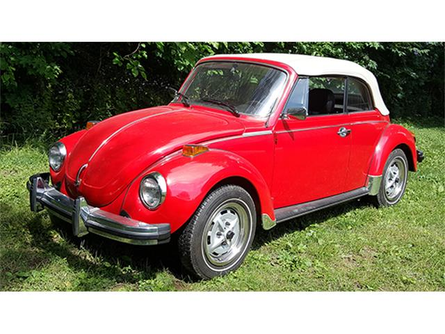 1979 Volkswagen Super Beetle Convertible | 886876