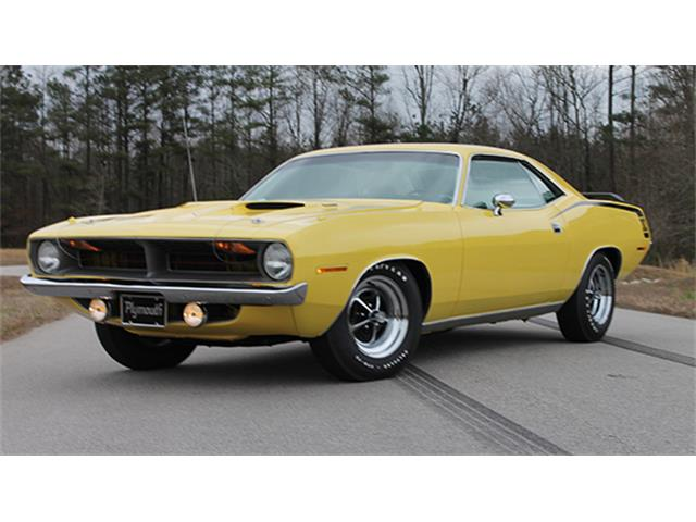 1970 Plymouth `Cuda 383 Two-Door Hardtop | 886881