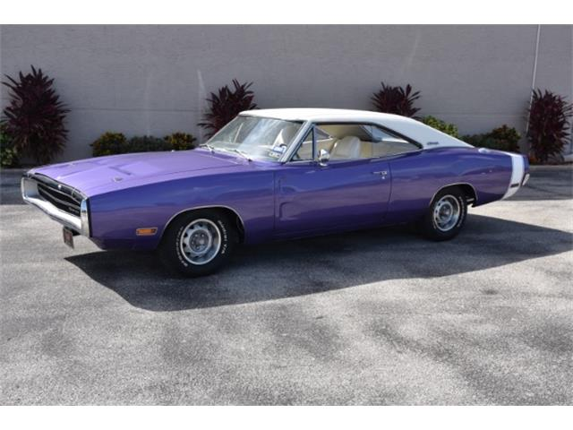 1970 Dodge Charger 383 Auto Plum Crazy Purple | 887040