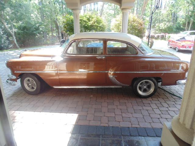 1954 Chevrolet 2-Dr Post | 887337