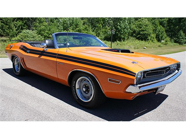 1971 Dodge Challenger Hemi R/T Convertible Tribute | 887386