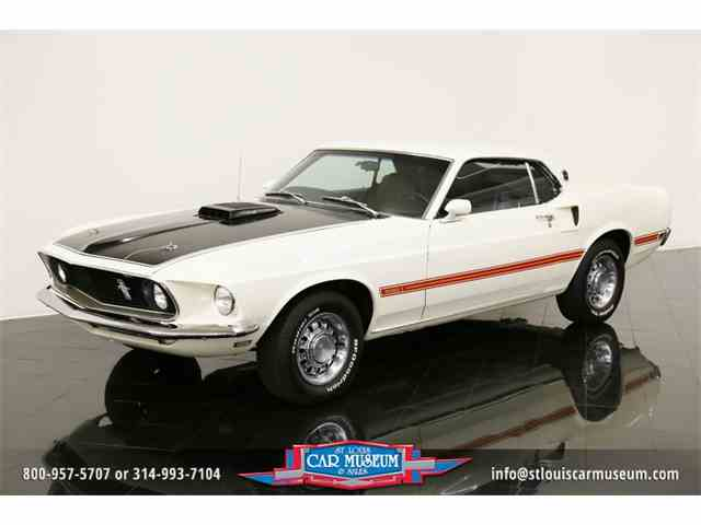 1969 Ford Mustang Mach I 428CJ Sports Roof | 887480