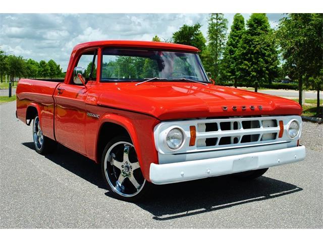 1968 Dodge D100 | 887501