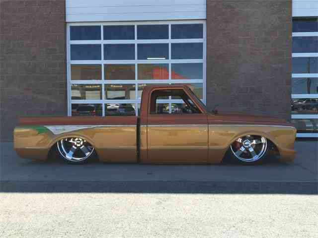 1971 CHEVROLET C-10 CUSTOM SHORTBOX | 887587