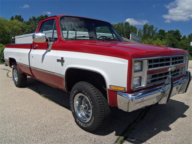 1987 Chevrolet Fleetside 1/2 ton pickup-Silverado | 887640