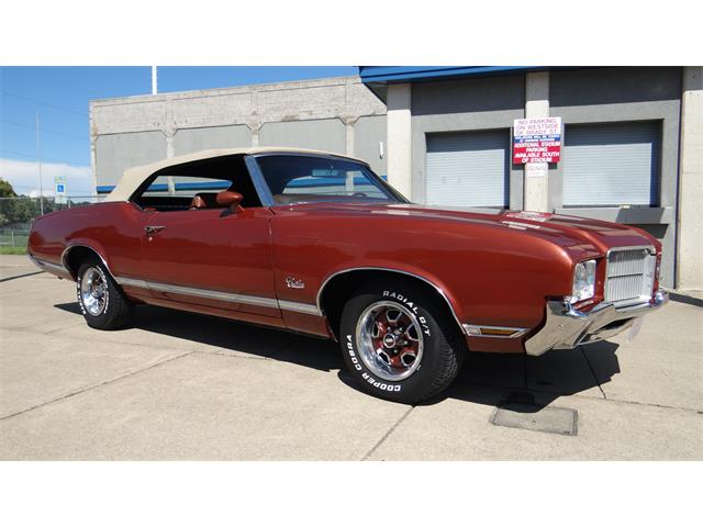 1971 Oldsmobile Cutlass Supreme Convertible | 887657