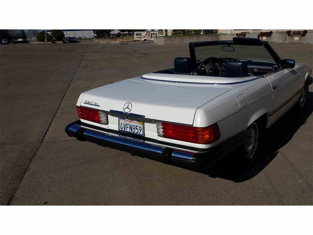 1984 mercedes benz 380sl for sale cc 887660. Black Bedroom Furniture Sets. Home Design Ideas