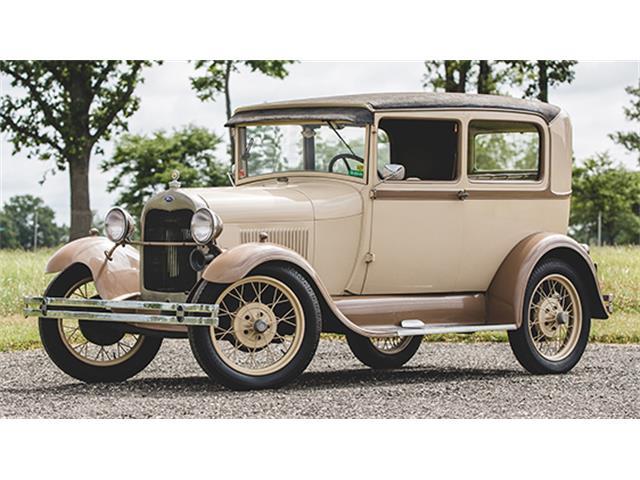 1928 Ford Model A Tudor Sedan | 887737
