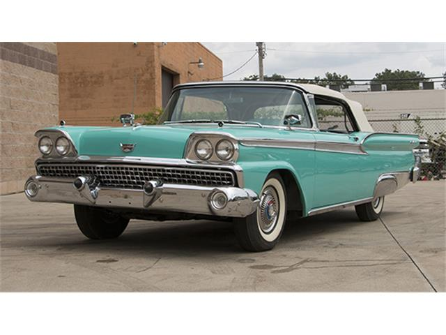 1959 Ford Fairlane 500 Galaxie Sunliner Convertible | 887813