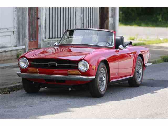 1969 Triumph TR6 | 887939