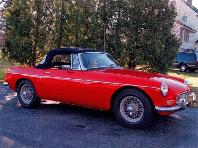 1967 MG MGB   887951