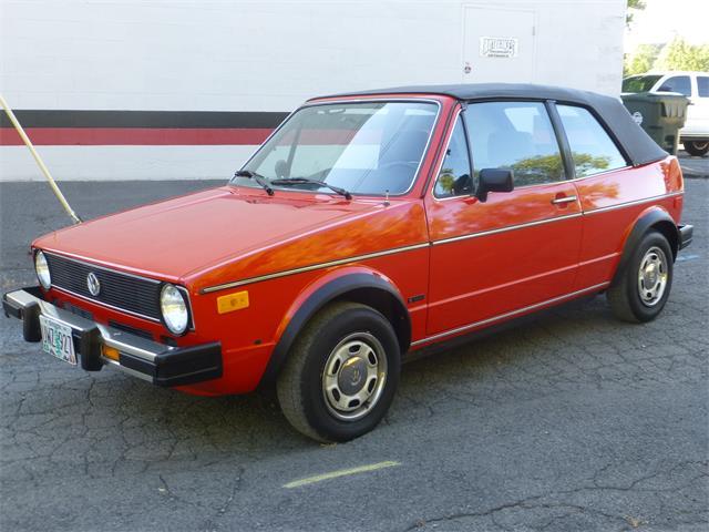 1985 Volkswagen Cabriolet | 887970