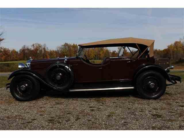 1929 STUTZ DUAL COWL PHAETON MODEL M | 887985