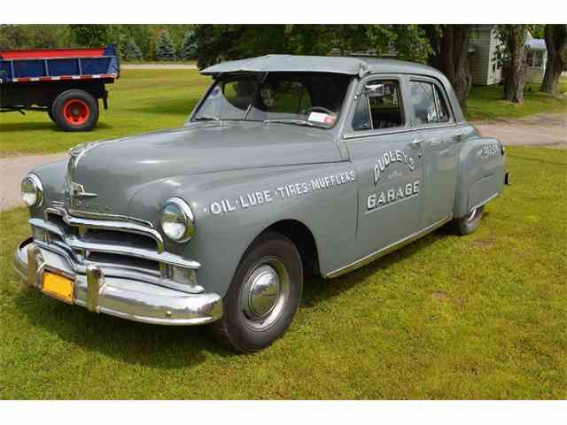 1950 Plymouth 4 DR. SEDAN | 887990