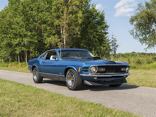 1970 Ford Mustang Mach 1 | 888034