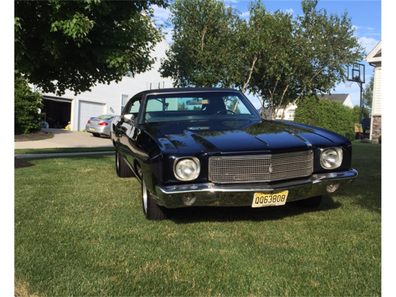 Sell Used 1970 Monte Carlo True Ss 454 With Original Build S