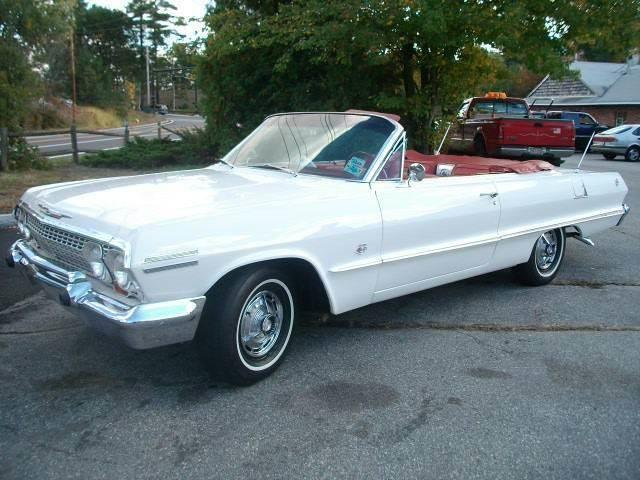 1963 Chevrolet Impala SS Convertible | 888091