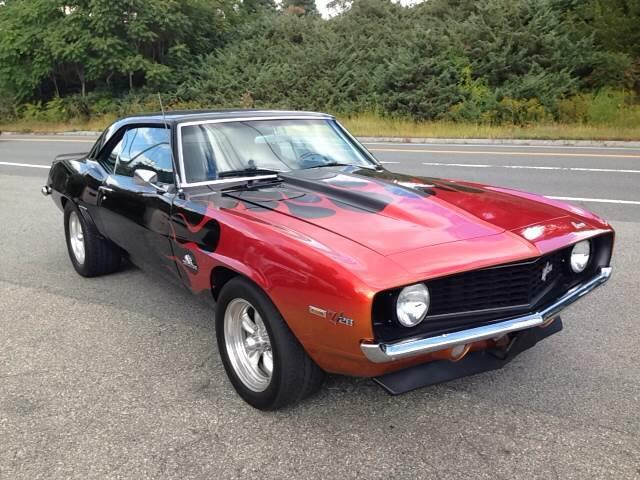 1969 chevrolet camaro z28 for sale on 46 available. Black Bedroom Furniture Sets. Home Design Ideas