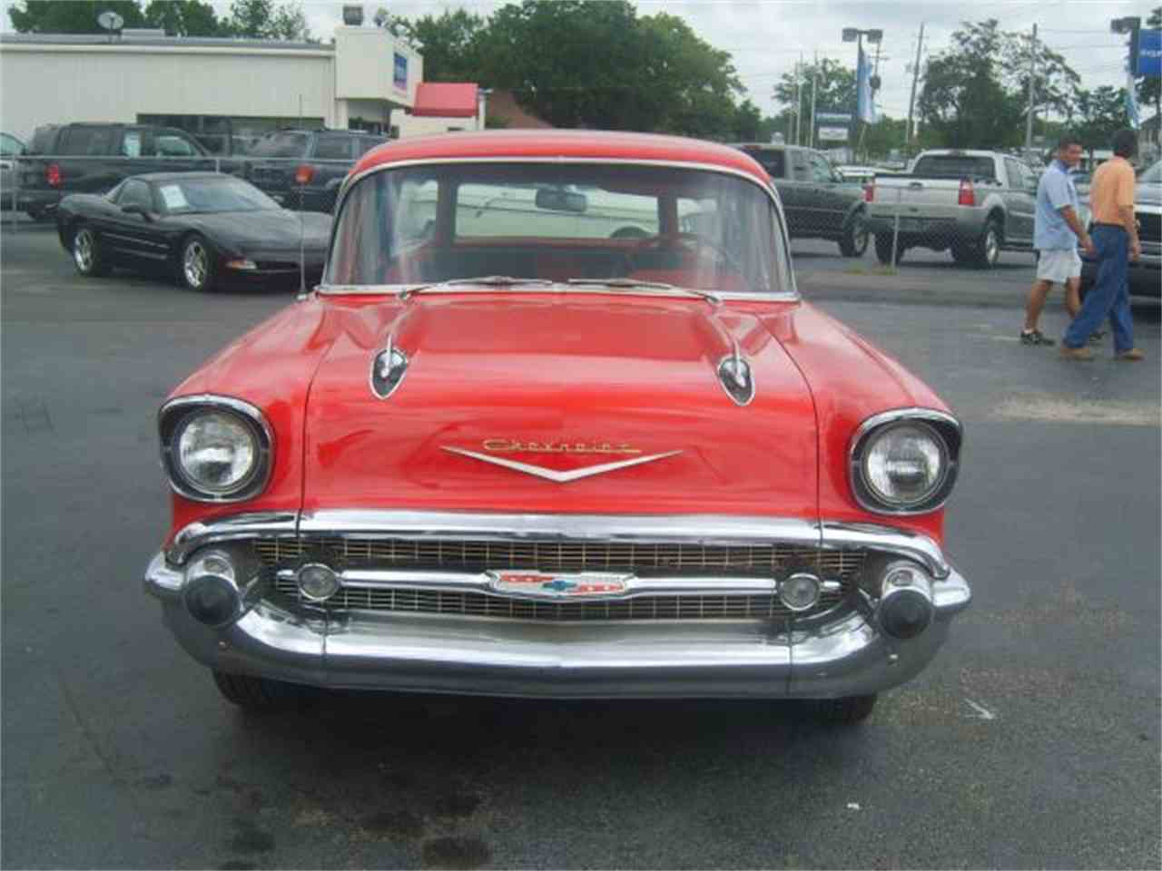 Large Picture of '57 Bel Air - J1D3