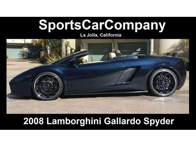 2008 Lamborghini Gallardo   888252