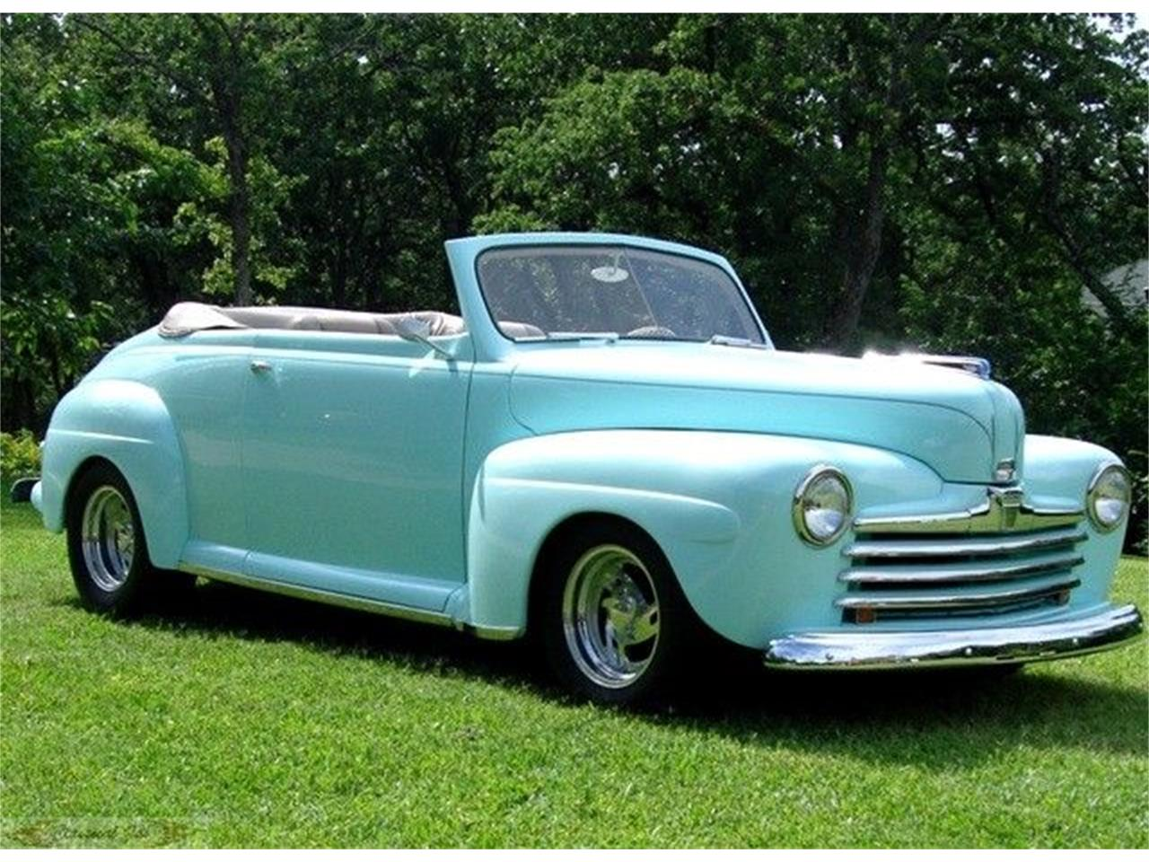 1947 ford convertible for sale cc 888268. Black Bedroom Furniture Sets. Home Design Ideas