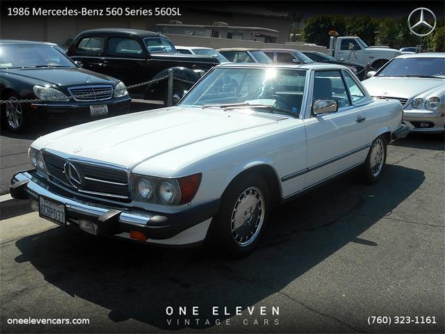 1986 Mercedes-Benz 560SL   888449