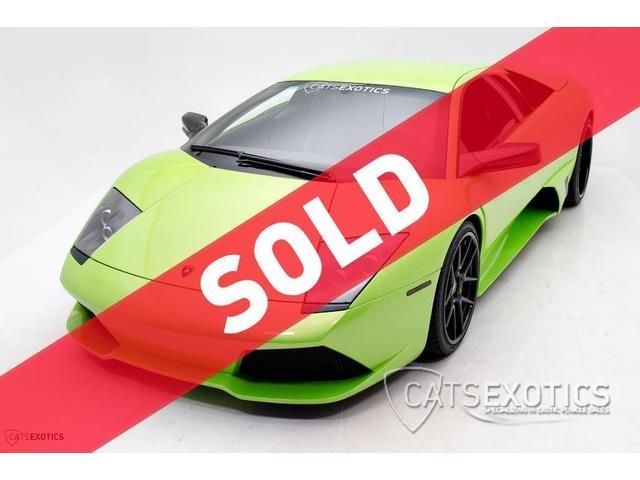 2009 Lamborghini Murcielago   888493