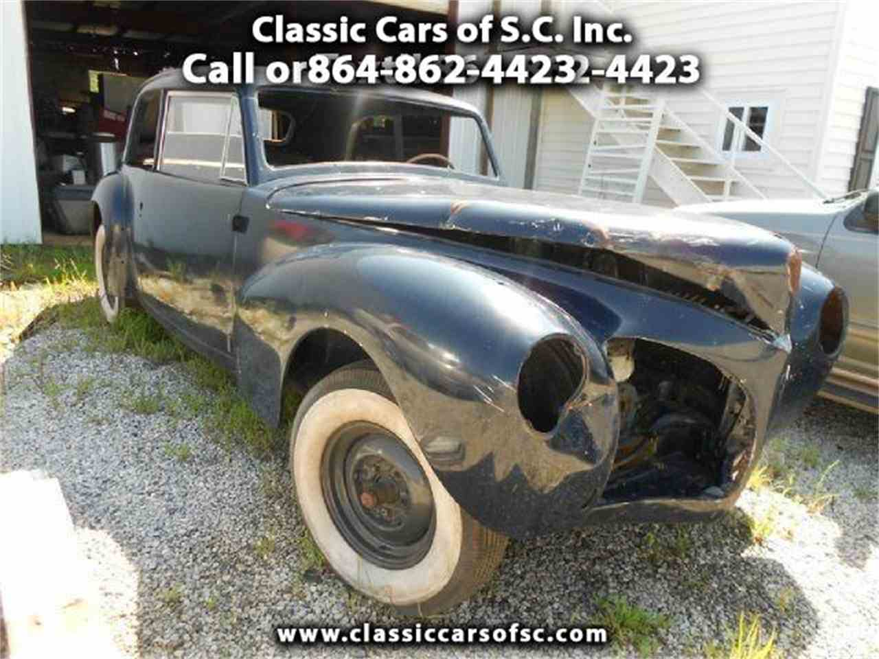 Large Picture of '41 Continental - J1MD