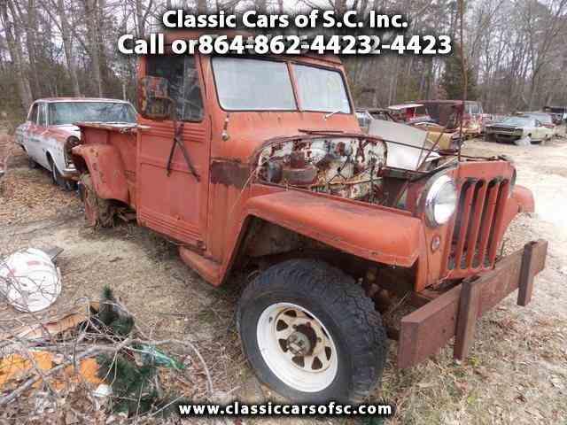 1958 Jeep Comanche | 888587