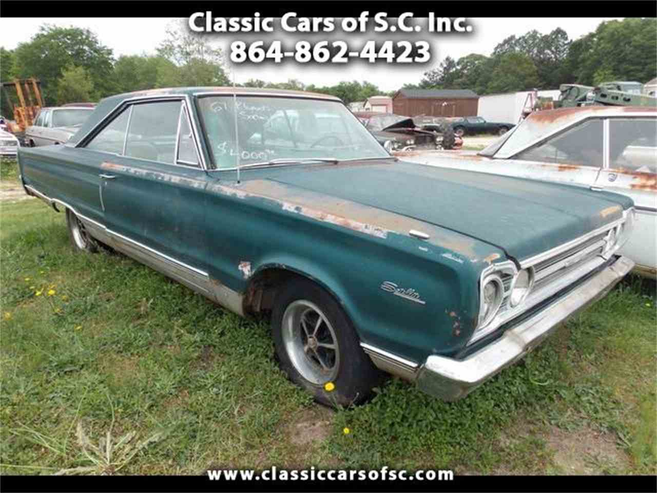 1967 plymouth satellite for sale cc 888599. Black Bedroom Furniture Sets. Home Design Ideas