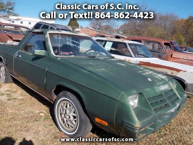 1982 Dodge Rampage | 888627