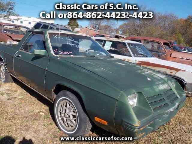 1982 Dodge Rampage   888627