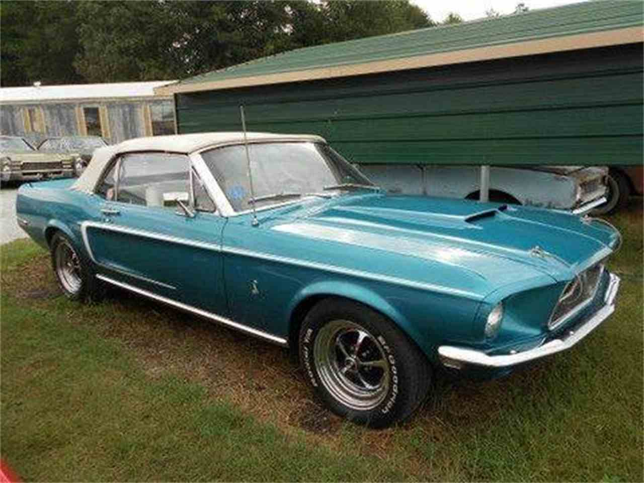 1968 Ford Mustang For Sale Classiccars Com Cc 888637