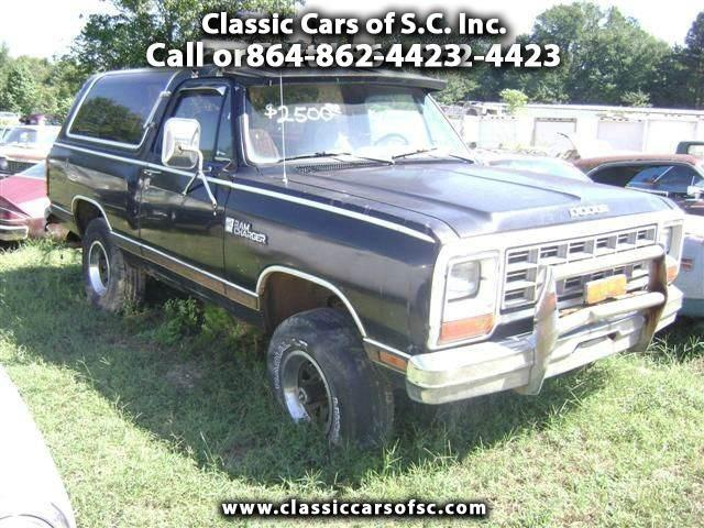 1984 Dodge Ramcharger | 888641