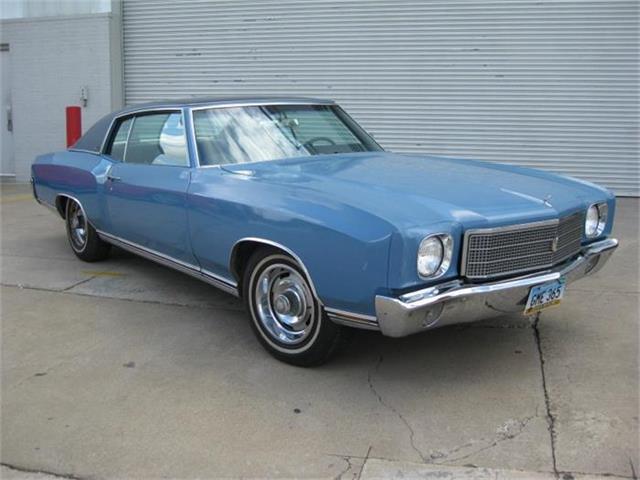 1970 Chevrolet Monte Carlo | 880865