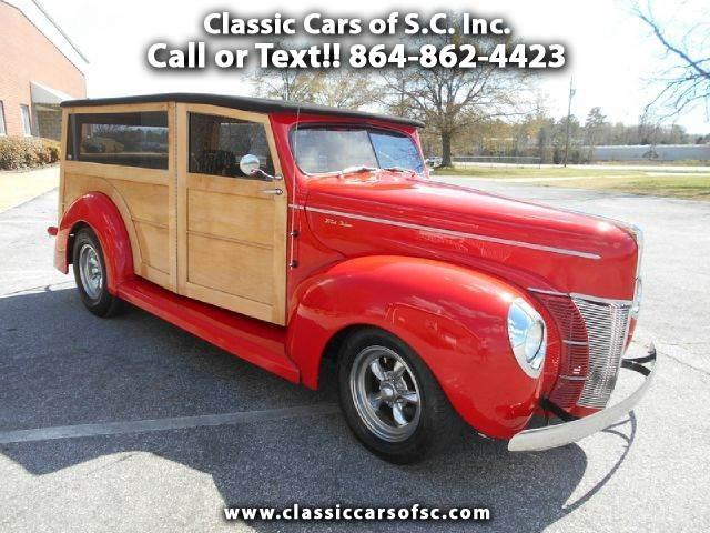 1940 Ford Woody Wagon | 888692
