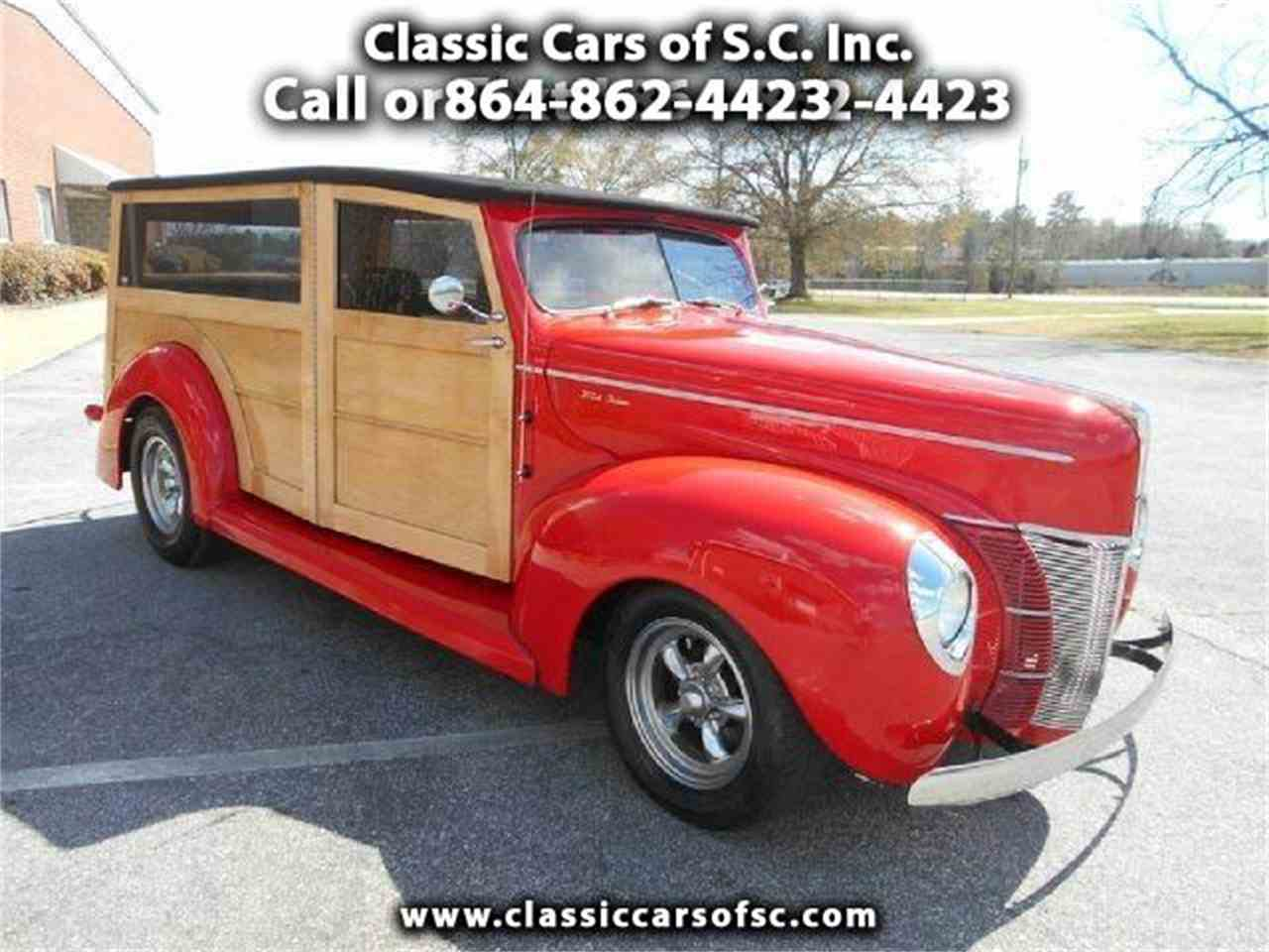 Ford Woody For Sale On Classiccars Com Available