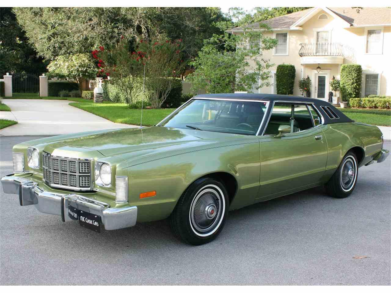 Ford Gran Torino 2018 >> 1974 Gran Torino Elite For Sale Florida | Autos Post