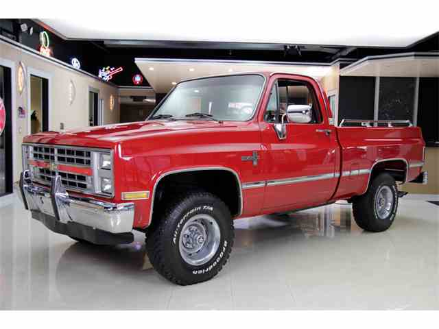 1985 to 1987 chevrolet silverado for sale on 17 available. Black Bedroom Furniture Sets. Home Design Ideas