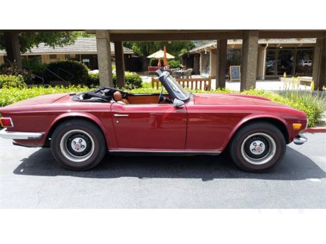 1972 Triumph TR6 | 889082
