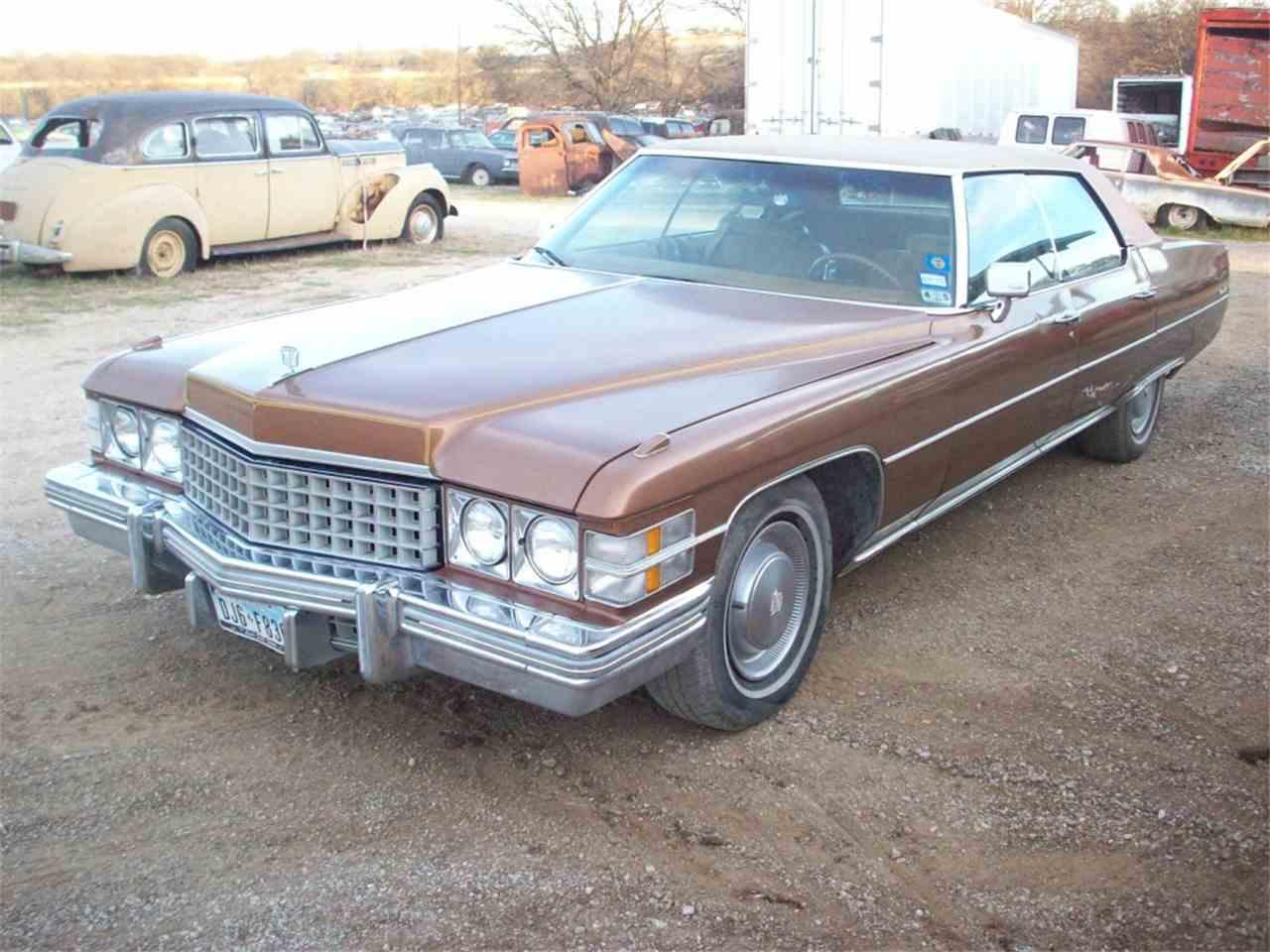 1974 Cadillac Sedan DeVille for Sale - CC-889101