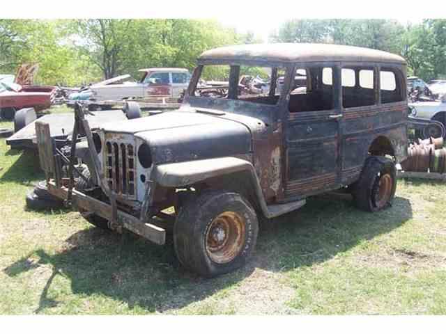 1955 Willys Wagoneer | 889223