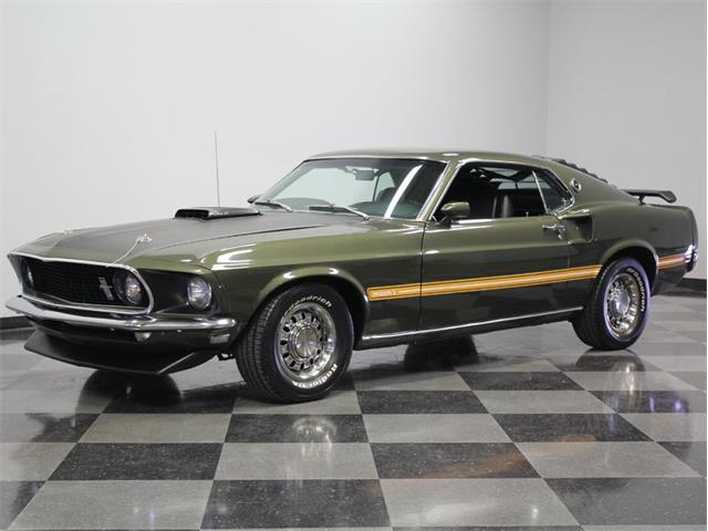 1969 Ford Mustang Mach 1 Cobra Jet | 889417